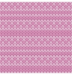pale color rose sweater pattern with stripe vector image