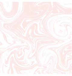 Light white and pink marble texture liquid vector