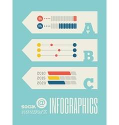 Technology infographic element vector
