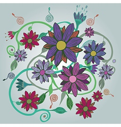 A bouquet of flowers vector