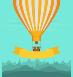 flat balloon vector image vector image