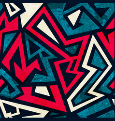 Graffiti seamless pattern vector