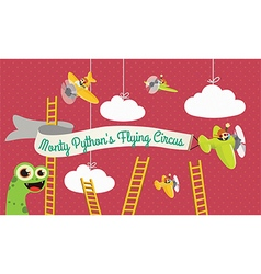 Monty pythons flying circus vector