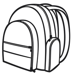 Bag pack vector