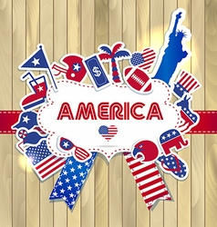 American design elements vector