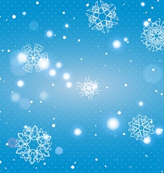 Snowflake pattern seamless texture christmas and vector