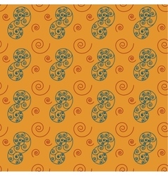 Spiral big seamless pattern vector