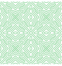 Geometric seamless ornament vector