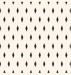 minimalist seamless pattern with simple rhombuses vector image vector image