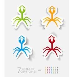 realistic design element organisms vector image vector image