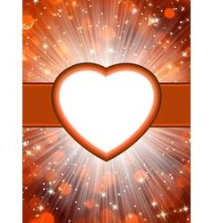 Valentine hearts StValentines Day vector image