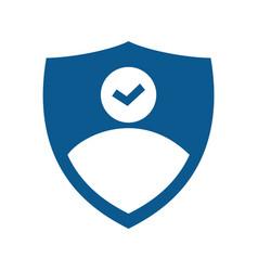 Businessman logo design vector