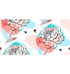 hand drawn abstract creative unusual vector image