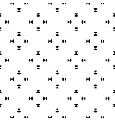minimalist seamless pattern black white shapes vector image vector image