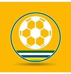 Football sport badge icon vector