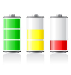 Icons charge battery 02 vector