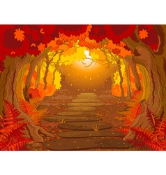 Magic Forest vector image