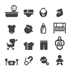 Baby icon vector