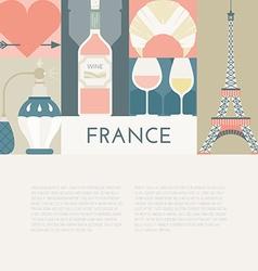 French Symbols vector image