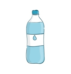 Fresh water drink vector image vector image