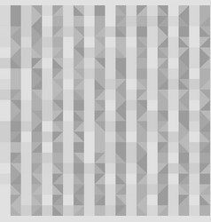 gray striped pattern with right triangles vector image vector image