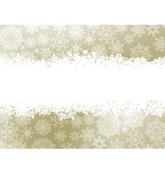 Snowflake christmas elegant background EPS 8 vector image vector image