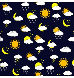 weather forecast background vector image vector image