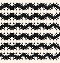 elegant monochrome geometric seamless pattern vector image