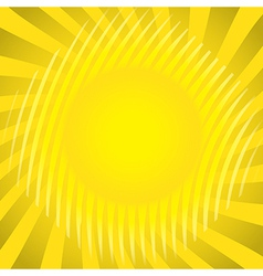 Sun theme vector image