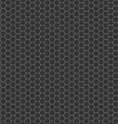 Black cell comb seamless pattern vector
