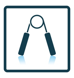 Icon of hands expander vector