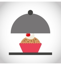 Bakery food menu icon vector