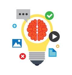 Brainstorm concept vector