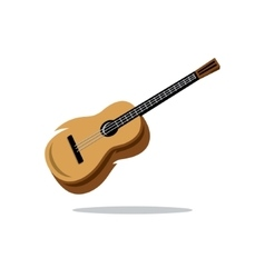 Guitar Cartoon vector image
