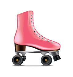 roller skates isolated vector image vector image