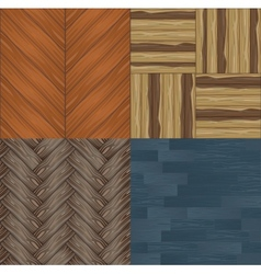 seamless wooden backgrounds vector image