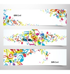 Set of website banners vector image vector image
