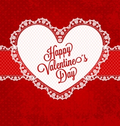 valentines card01 vector image vector image