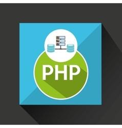 Php language data base storage vector