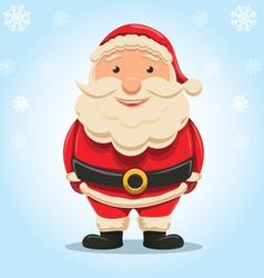 Christmas santa claus isolated vector