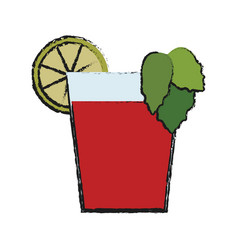 Cocktail icon image vector