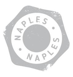 Naples stamp rubber grunge vector