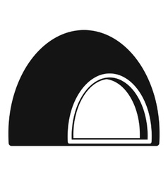 Souffle icon simple style vector image