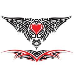 TATTOO vector image