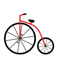 Penny-farthing Icon vector image