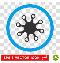 Axenic eps rounded icon vector