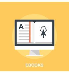 Ebooks vector