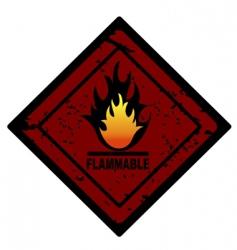 fire advertisement vector image