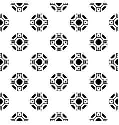 Ornamental square texture seamless vector