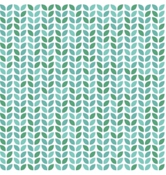 Seamless pattern with leaves decorative print vector